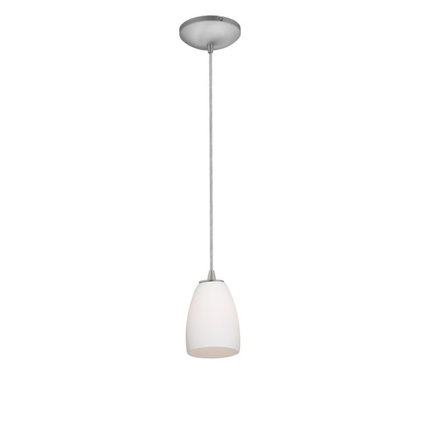 Access Lighting Sherry Glass 1-light Fluorescent Pendant with Cord