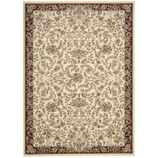 kathy ireland Antiquities Timeless Elegance Ivory Area Rug by Nourison (5'3 x 7'4)