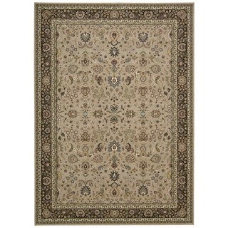 kathy ireland Antiquities Royal Countryside Cream Area Rug by Nourison (5'3 x 7'4)