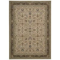kathy ireland Antiquities Royal Countryside Cream Area Rug by Nourison - 5'3 x 7'4