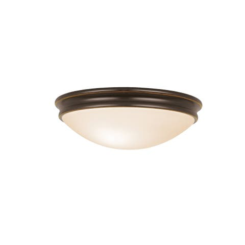 Access Lighting Atom 1-light 11 inch Flush Mount