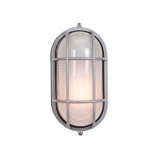 Access Lighting Nauticus 1-light Large Grid Bulkhead