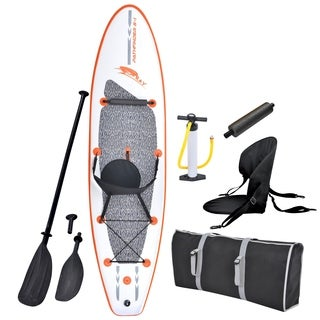 Blue Wave Sports Stingray 10-foot Inflatable Stand Up Paddle Board Kit