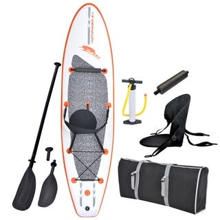 Blue Wave Sports Stingray 10-foot Inflatable Stand Up Paddle Board Kit|https://ak1.ostkcdn.com/images/products/9690774/P16868971.jpg?impolicy=medium