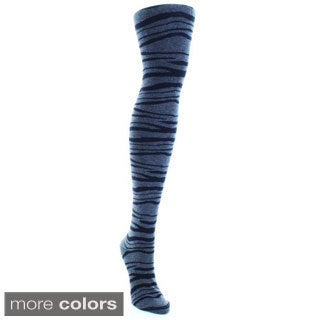 MeMoi Zebra Sweater Tights