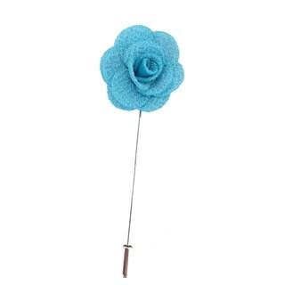 Men's Flower Lapel Pin Handmade