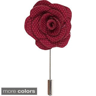 Men's Flower Lapel Pin Handmade