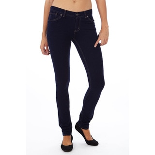 Dinamit Jeans Juniors Skinny Fit French Terry Jeggings Pants
