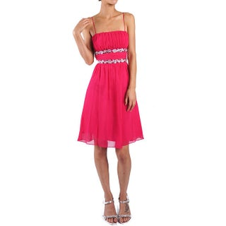 DFI Women's Jewel Adorned Social Short Dress (More options available)