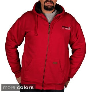 Case IH Men's Sherpa-lined Zip Front Hoodie
