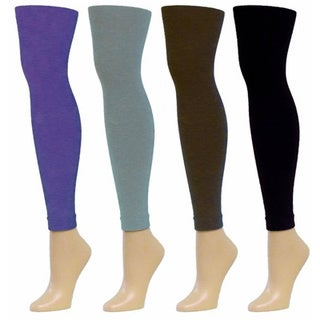 MeMoi Winter Fleece Footless Tights