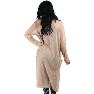 Lyss Loo Long-Line Cardigan with Pockets