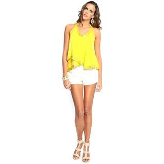 Sara Boo Women's Tank Top Yellow