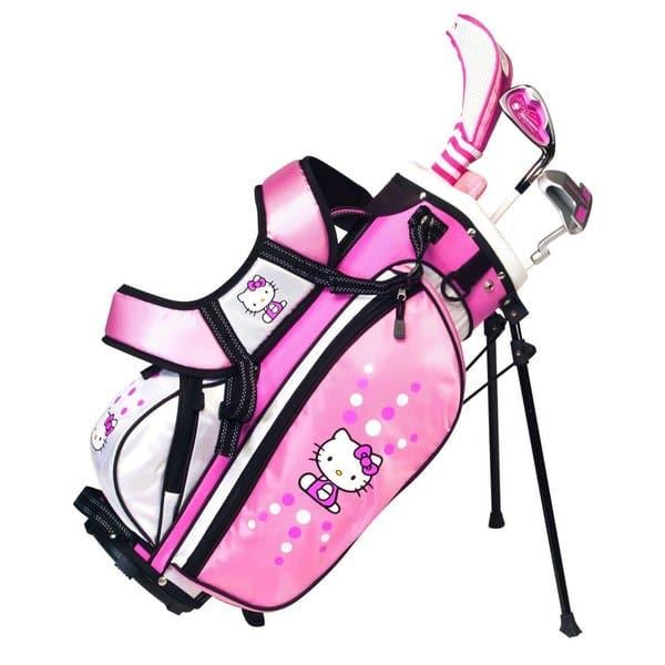 Shop Hello Kitty Golf Junior Set 6 8 Years Old Overstock 9691087
