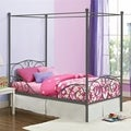 DHP Canopy Twin Metal Bed