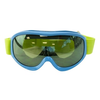 Light Blue Snow Goggles