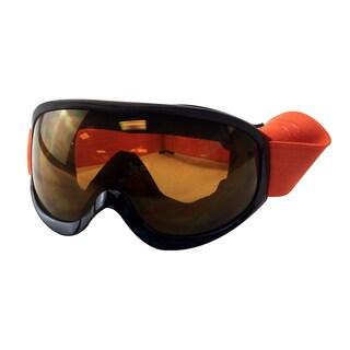 Orange Snow Goggles