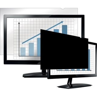 """Fellowes PrivaScreen Blackout Privacy Filter - 18.5"""" Wide Black"""