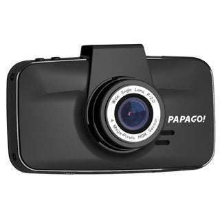 "Papago! GoSafe 520 Digital Camcorder - 3"" LCD - CMOS - Full HD - Blac"