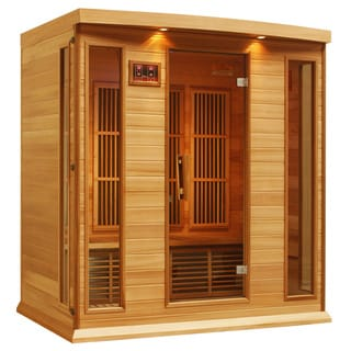 Maxxus 4-person MX-K406-01 Red Cedar Wood Sauna