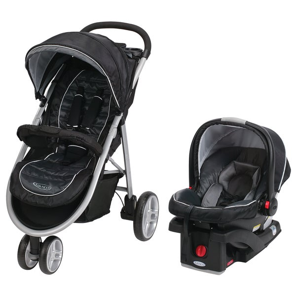 Graco Aire3 Click Connect Travel System In Gotham