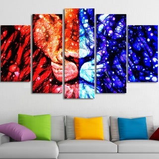 King of the Jungle' Canvas Wall Art