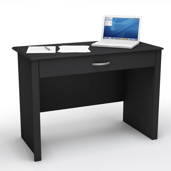 Work ID Collection Pure Black Desk - Free Shipping Today - Overstock