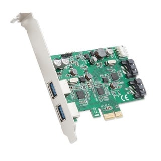 Syba 4-Port USB 3.0 SATAIII Pcie Revision 2.0 Renesas Chipset With Full/ Low Profile Brackets