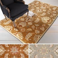 Hand-tufted Ty Traditional Wool Area Rug - 9' x 12'