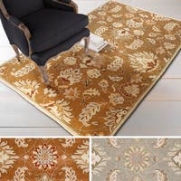 """Hand-tufted Ty Traditional Wool Area Rug - 7'6"""" x 9'6"""""""