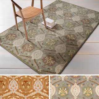 Hand-tufted Sofia Traditional Wool Rug (12' x 15')