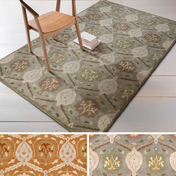 Hand-tufted Sofia Traditional Wool Rug (10' x 14')