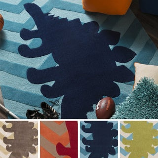 Hand-Tufted Mandy Geometric Polyester Rug (8' x 11')