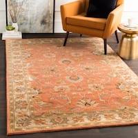 Hand-tufted Nia Traditional Wool Area Rug - 5' x 8'