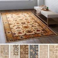 Hand-tufted Nick Traditional Wool Area Rug (5' x 8')
