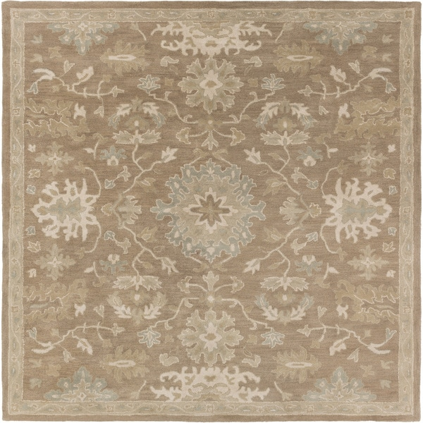 Hand-tufted Nolan Traditional Wool Rug (9'9 Square)