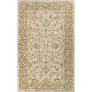 Hand-tufted Tiana Traditional Wool Area Rug