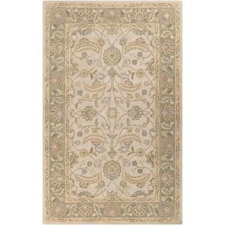 Hand-tufted Tiana Traditional Wool Rug (2' x 3')