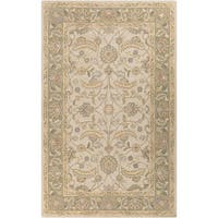 Hand-tufted Tiana Traditional Wool Area Rug - 2' x 3'