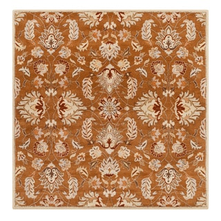 Hand-tufted Ty Traditional Wool Rug (9'9 Square)