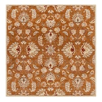 Hand-tufted Ty Traditional Wool Area Rug - 9'9