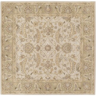 Hand-tufted Tiana Traditional Wool Area Rug - 9'9