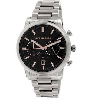 036e0b70995c Michael Kors Men s MK8369 Pennant Gunmetal Grey Stainless Steel Watch