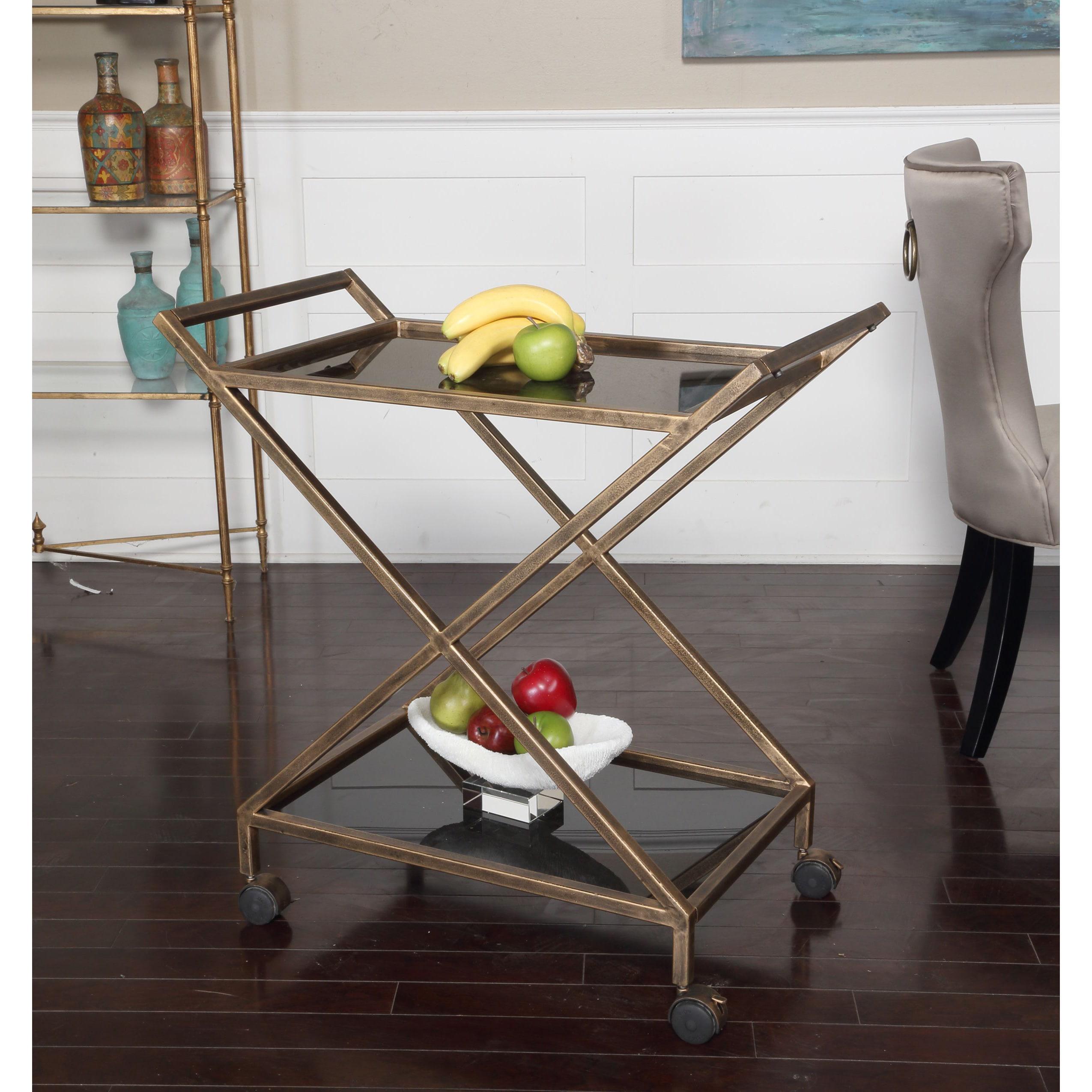 Silver Orchid Munchofen Gold Bar Cart (Gold Bar Cart)