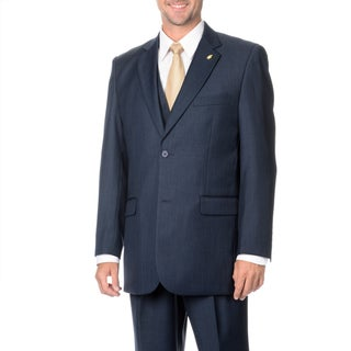Falcone Men's 3-piece Vested Stylish Suit (More options available)