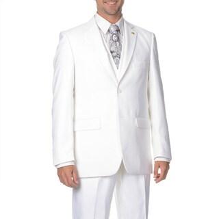 Falcone Men's 3-piece Vested Stylish Suit