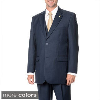 Falcone Men's 3-piece Vested Stylish Suit