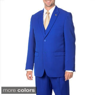 Falcone Men's 3-piece Handsome Vested Suit