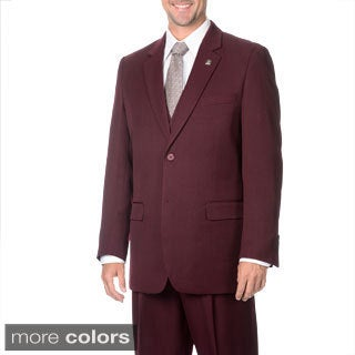 Stacy Adams Men's 3-piece 2-Button Vested Suit