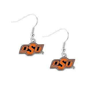 Oklahoma State Cowboys Dangle Earrings (Option: Oklahoma State Cowboys)